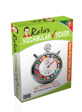 007 - Regular ER Verb Patterns in European Portuguese